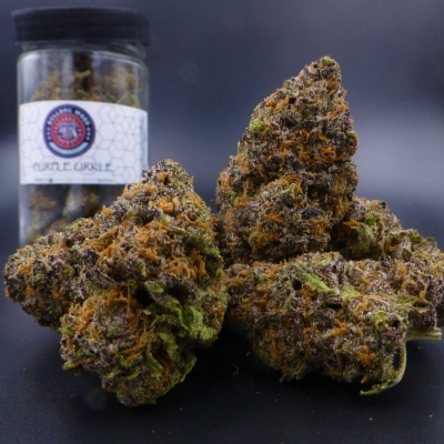 Purple Urkle Bulldog Weed Spokane