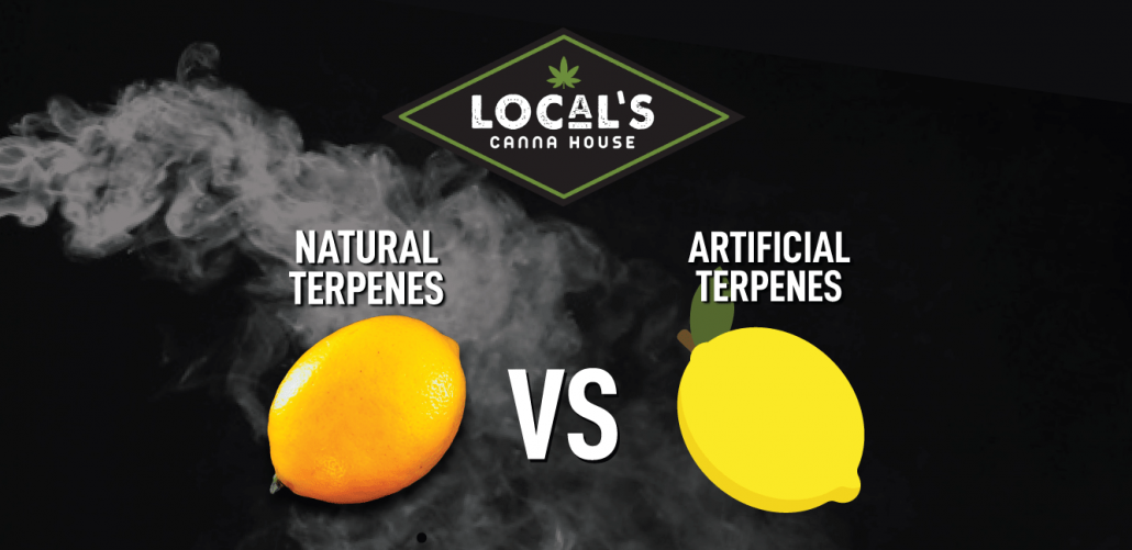 sythentic terpenes vs cannabis derived terpenes